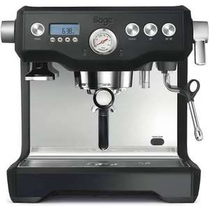 Sage The Dual Boiler Black Truffle Coffee Machine £629.10 at eCookshop