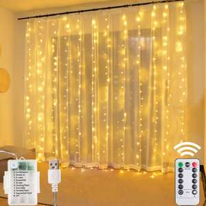 Window Curtain String Lights £10.99 Sold by liwiner and Fulfilled by Amazon Prime / £15.48 Non Prime