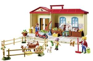 Playmobil 4897 Country Take Along Farm with Carry Handle and Fold-Out Stables - Multicolor £12.50 in Morrisons (Morley)