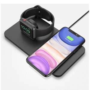 Seneo 2 in 1 Wireless Charger / Charging Dock - £14.27 (Prime) £18.76 (Non Prime) @ Sold by HBH LTD and Fulfilled by Amazon.