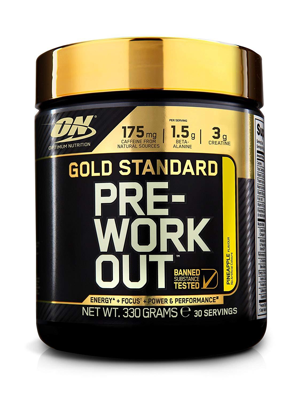 Optimum Nutrition Gold Standard Pre Workout Energy Drink Powder £12.99 at Amazon Prime / £17.48 Non Prime