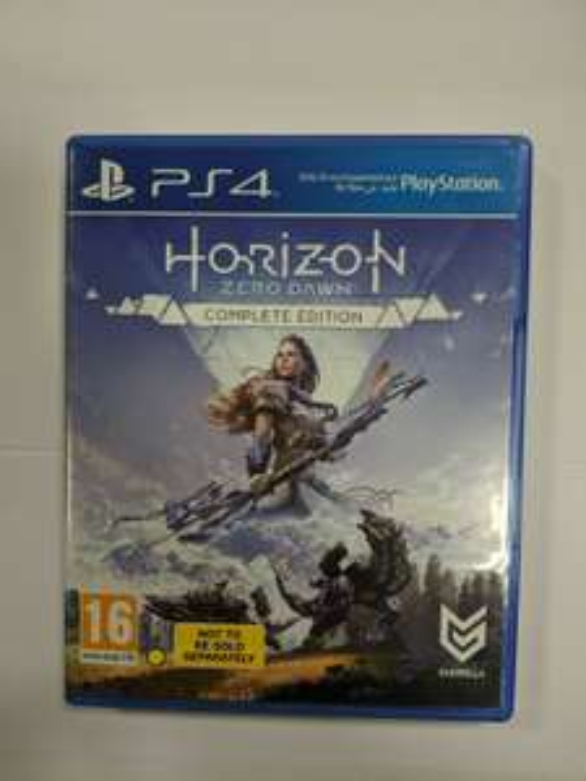 Horizon Zero Dawn Complete Edition (Bundle) PS4 USED@Evergameuk ebay