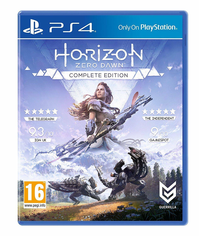 Horizon Zero Dawn Complete Edition (Bundle) PS4 USED £9.80 @ Evergameuk eBay