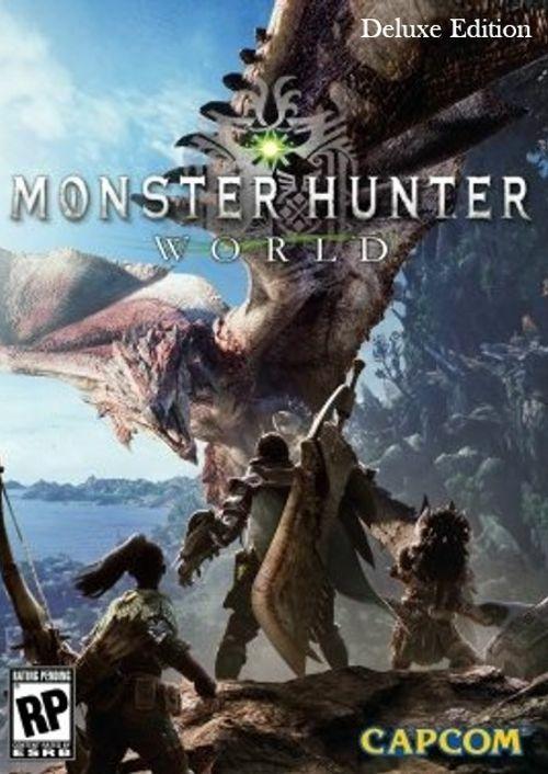 Monster Hunter World Deluxe Edition PC - £21.99 @ CDKeys