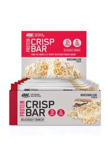10 Optimum Nutrition Protein Crisp Protein Bars - £12.49 (Prime) £16.98 (Non Prime) @ Amazon