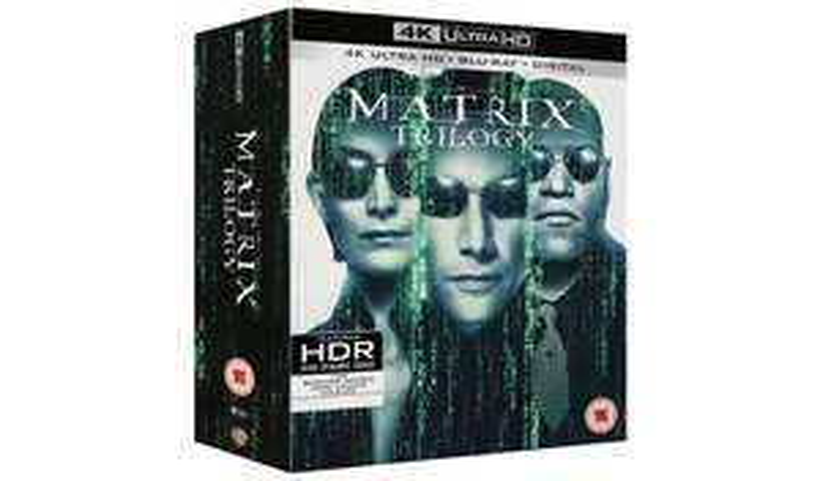 Matrix Trilogy 4k UHD box set £29.99 online @ Amazon