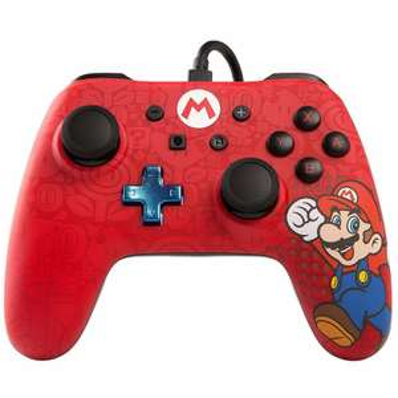 Super Mario Wired Controller for Nintendo Switch £12 @ Asda