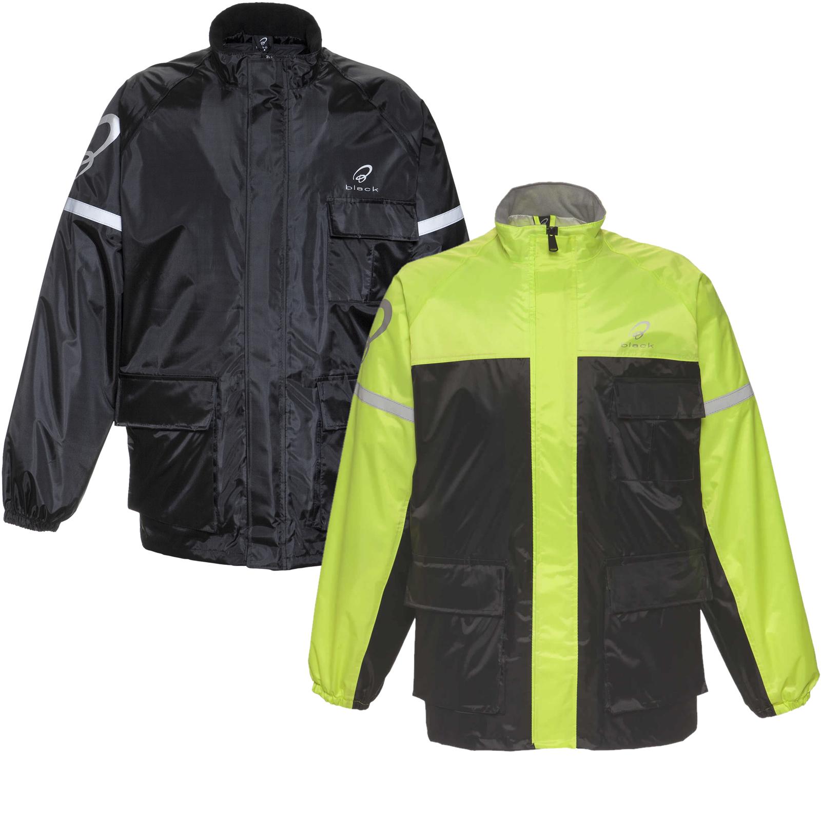 Black Spectre Waterproof Motorcycle Over Jacket + Storage Bag £18.13 Delivered with Voucher Code @ Blacks