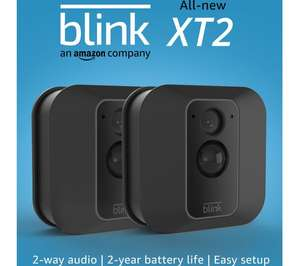 Blink XT2 Full HD 1080p WiFi Security System - 2 Cameras - £120.60 delivered @ Currys PC World