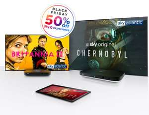 Sky Q experience Multiscreen Plus, unlock Ultra HD £6.50pm for 18 months (£117) @ Sky Store