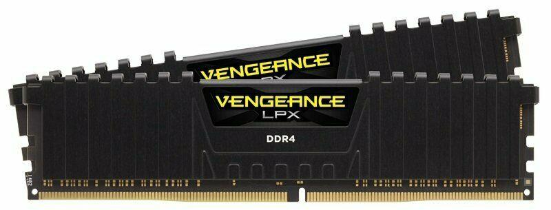 Corsair Vengeance LPX 32GB (2x16GB) DDR4 DRAM 3200MHz C16 Memory Kit - Black £114.02 at Ebuyer/ebay