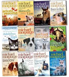 12 classic children's books collection from Sir Michael Morpurgo for £15.99 delivered @ Books2Door