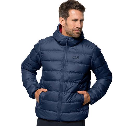 Jack Wolfskin Helium Down Jacket in Dark Indigo (was £130) Now £68 delivered with new customer code @ Wiggle
