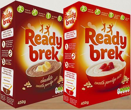 Ready Brek 450g Original & Chocolate £1 @ Asda
