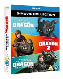 How to Train Your Dragon - The Hidden World Box Set (3 BLU-RAY movies) £10.80 @ Amazon Prime / £13.79 Non Prime
