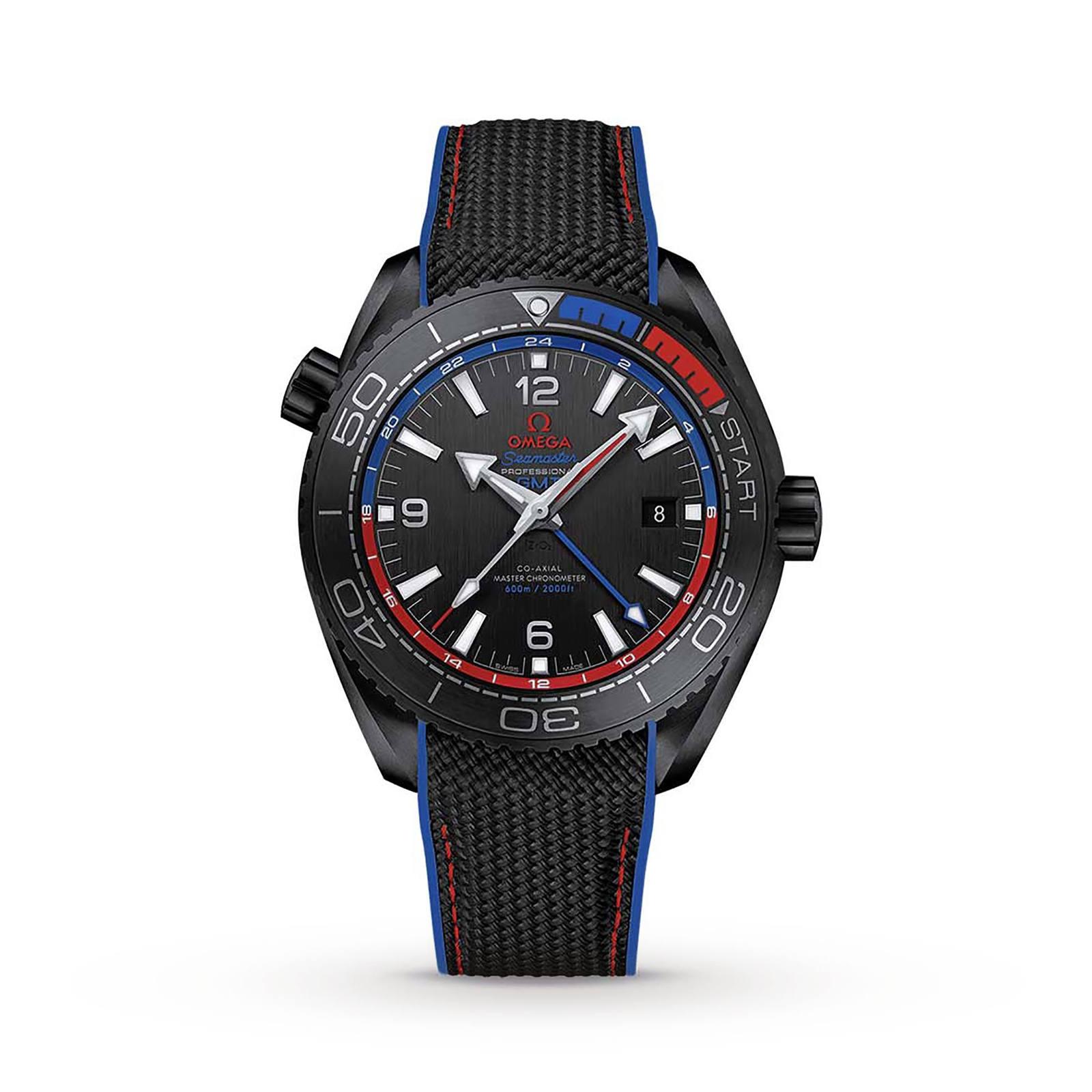 Omega Seamaster Planet Ocean Mens Watch £5,949 at Goldsmith