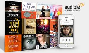 Audible First four months for just £3.99 per month @ Amazon (New Customers Only)