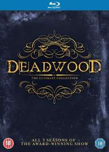 Complete Deadwood TV Seasons 1-3 on Bluray at Amazon £11.22 + £2.99 delivery Non Prime
