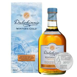Dalwhinnie Winters Gold 70cl malt whisky £26 at Morrisons