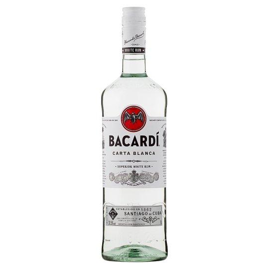 Barcardi White Rum 1 litre £16 @ Sainsbury's