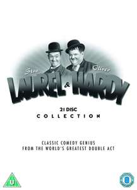 Laurel & Hardy: The Collection DVD Boxset £18.41 (+£2.99 Non Prime) @ Amazon