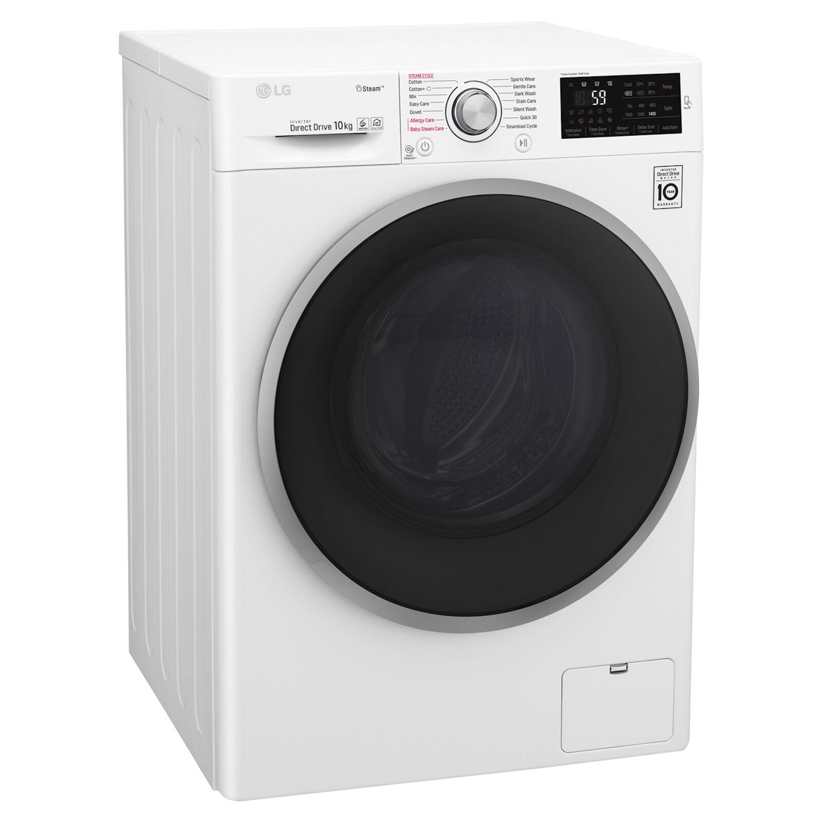 LG F4J610WS 10kg 1400rpm Washing Machine with 5 year warranty £354 with code @ Hughes Direct ebay