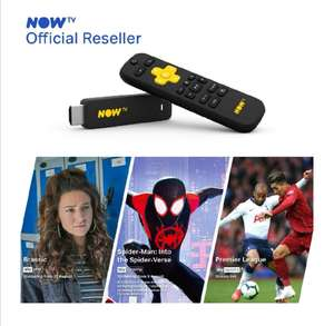 Now TV Stick, 1 Month Entertainment + Movies + Sports - £14.99 - Sold by Boss Deals/Distribution, Fulfilled by Amazon (+£4.49 non-Prime)