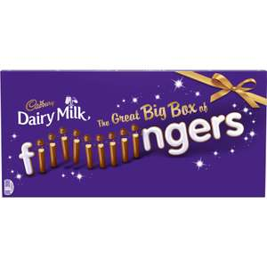 Cadbury's Fingers Big Box at Morrison's for £3