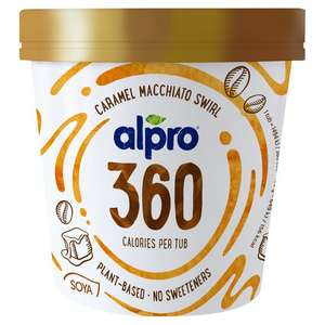 Alpro 360 Ice cream 450ml £4 @ Tesco (possibly free after cashback)