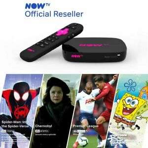 NOW TV Smart Box with 4K including 4 NOW TV Passes £24.99 @ ebay / boss_deals
