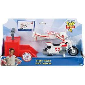 Disney Pixar Toy Story 4 Duke Caboom Stunt Racer £12.00 @ Sainsbury's (£1.00 Delivery Slots Available)
