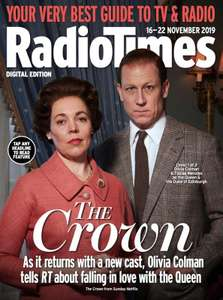 Radio Times (print edition) 6 issues £1 delivered inc Christmas issue