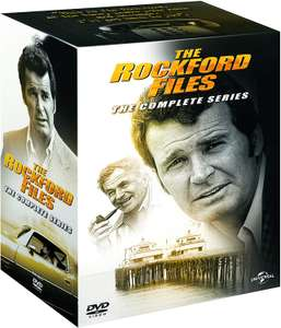 The Rockford Files - Series 1-6 Complete [2018] Amazon Exclusive Box Set (32 discs!) £20.02 @ Amazon
