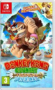 Donkey Kong Tropical Freeze (Nintendo Switch, Ex-rental) £28.49 @ Boomerang Rentals