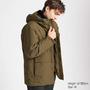 Men N-3B Parka for £29.90 at Uniqlo