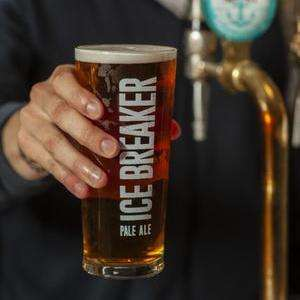 Free pint of Greene King Ice Breaker pale ale (selected pubs)