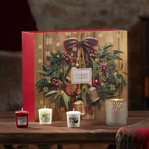 Yankee Candle - 'Votive' Scented Candle and Tea Light Candle Advent Book £24.50 @ Debenhams