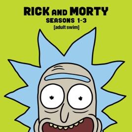 Rick & Morty - £4.99 HD per season on iTunes or £14.99 box set