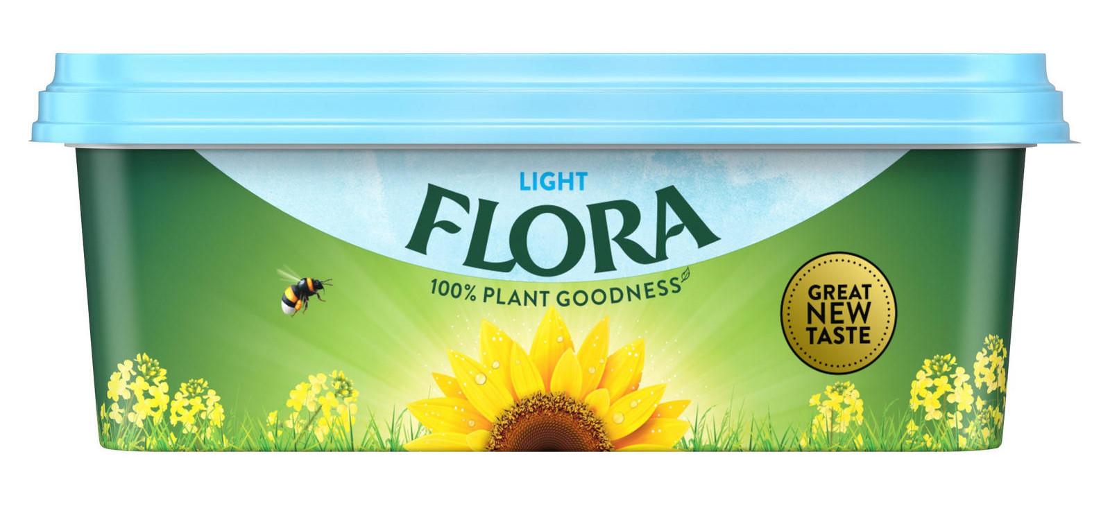 Flora Light Spread 250g - 50p @ Iceland
