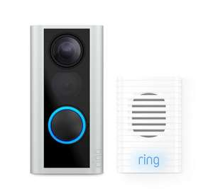 Ring Door View Cam with Chime and Extra Battery £156.91 QVC