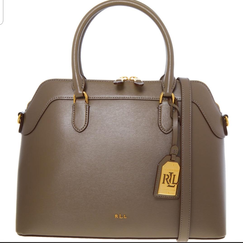 Ralph Lauren Brown Grained Leather Grab Bag £129.99 @ Tkmaxx free p&p