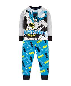 Batgirl pjs down to £2.98, sizes from 3-10y, free C&C to store - Mothercare (BATMAN NOW OOS)