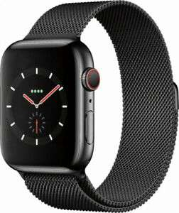 Apple Watch Series 4 GPS + Cellular, 44mm Space Black Stainless Steel Case - £299.90 delivered @ eBuyer Express eBay