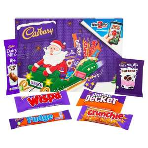 Cadbury Milk Chocolate Santa or Freddo Selection Box 153G £1 / Cadbury Snowy Fingers 230G £1.25 / Cadbury Chocolate Eclairs 420G £2 @ Tesco