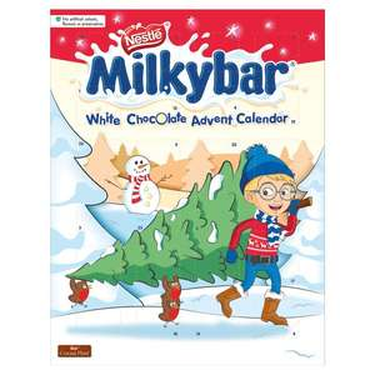 Nestle Milkybar Advent Calendar £1 / Oreo Christmas Tin £2.50 / After Eight Mints Carton 300G £1.50 / Mcvities Victoria 300G £1.50 @ Tesco