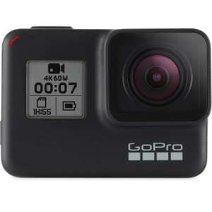GoPro HERO7 Black - 4K at 60FPS £249 @ AO