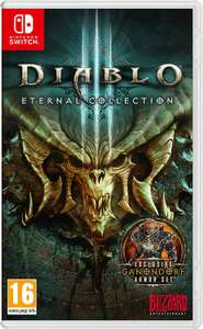 Nintendo Switch - Diablo 3 Eternal Collection £29.99 Amazon