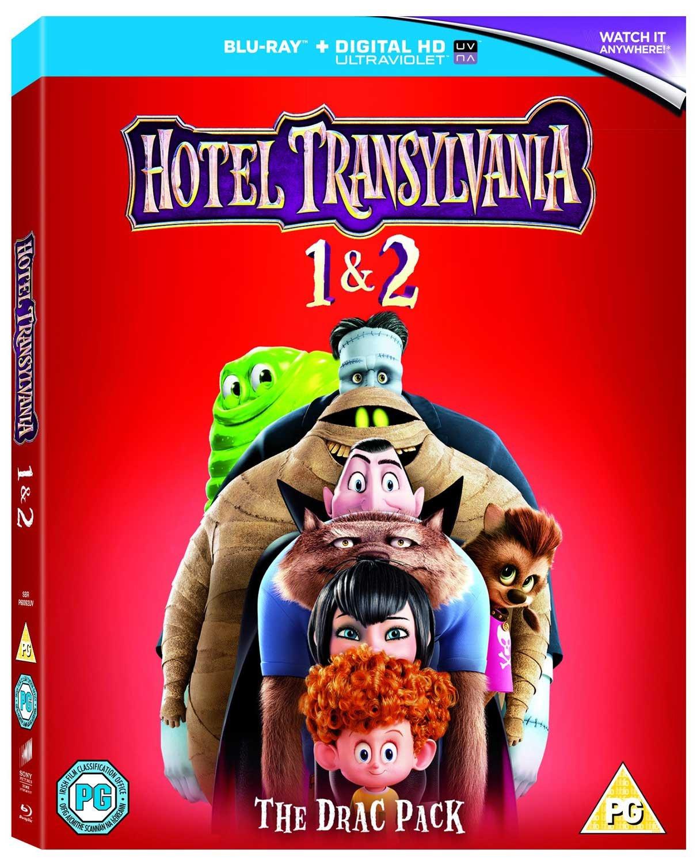 Hotel Transylvania 1-2 [Region Free] Blu-ray + Digital copy £4.89 (Prime) / £7.88 (non Prime) at Amazon