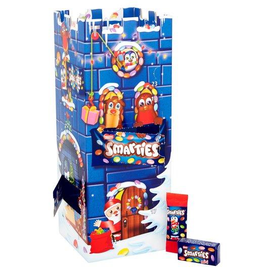 Smarties 3D Advent Calendar - £5.00 @ Tesco
