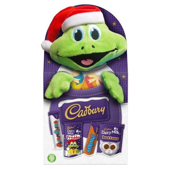 Cadbury milk chocolate assortment with a plush toy - £2.50 @ Tesco